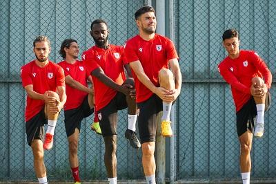 Samsunspor Bursa Maçına Hazır
