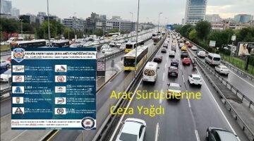 Trafik Şube: Kırkbin 621 Sürücüye Ceza Kesti